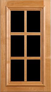 Augustine II Lite Panel - 6 Lite - Applied Moulding - Level 6 (CDS #122-04-P3GA-E62-AM4) Lrg