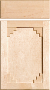 Sante Fe Southwest - Inset Panel - Rustic - Level 4 (CDS #155-P20-E25) Lrg